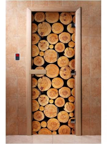 Дверь с фотопечатью A043