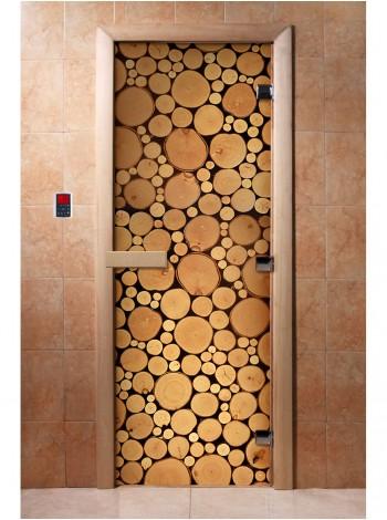 Дверь с фотопечатью A048