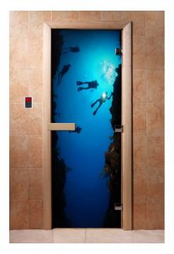 Дверь с фотопечатью A069