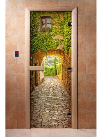Дверь с фотопечатью A072
