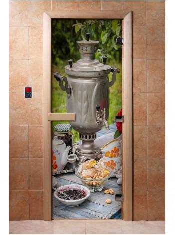 Дверь с фотопечатью A077