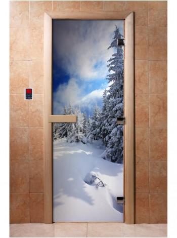 Дверь с фотопечатью A081