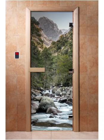 Дверь с фотопечатью A094