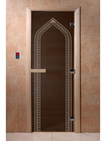 "Дверь ""Арка черный жемчуг"""