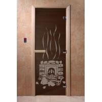"""Дверь """"Банька черный жемчуг"""""""