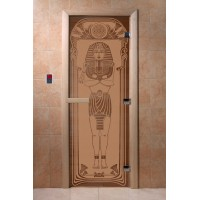 """Дверь """"Египет бронза матовая"""""""
