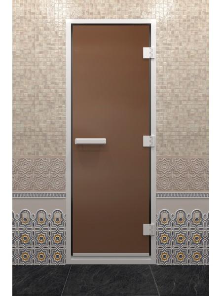 """Дверь """"Хамам Бронза матовая"""""""