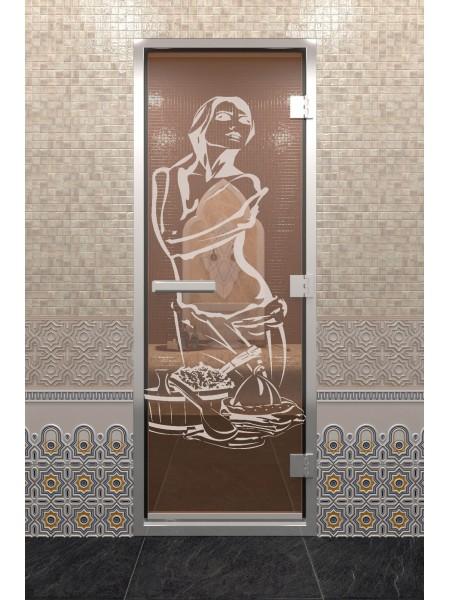 """Дверь """"Хамам Искушение Бронза"""""""