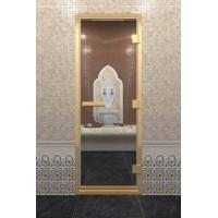 """Дверь """"Хамам В Золотом Профиле"""""""