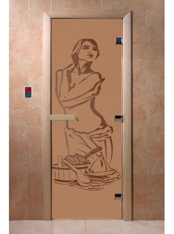 """Дверь """"Искушение бронза матовая"""""""