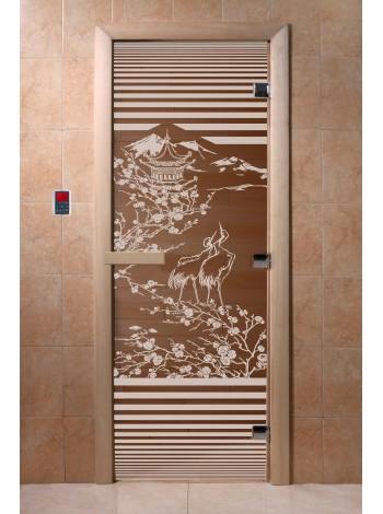 """Дверь """"Япония бронза"""""""