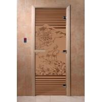 """Дверь """"Япония бронза матовая"""""""