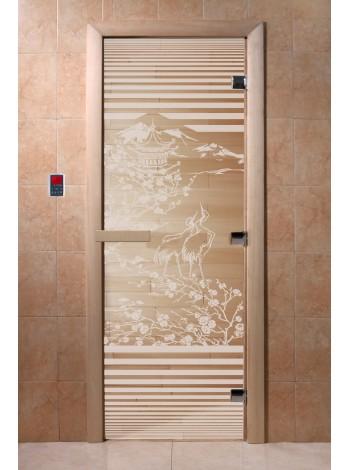 """Дверь """"Япония прозрачная"""""""