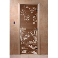 """Дверь """"Камышовый рай бронза"""""""