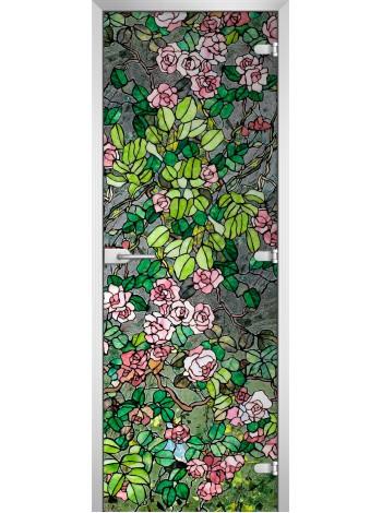 Стеклянное полотно с фотопечатью Stained Glass-01