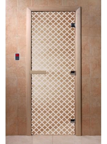 """Дверь """"Мираж прозрачная"""""""