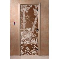 """Дверь """"Мишки бронза"""""""