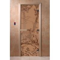 """Дверь """"Мишки бронза матовая"""""""