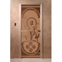 """Дверь """"Посейдон бронза матовая"""""""