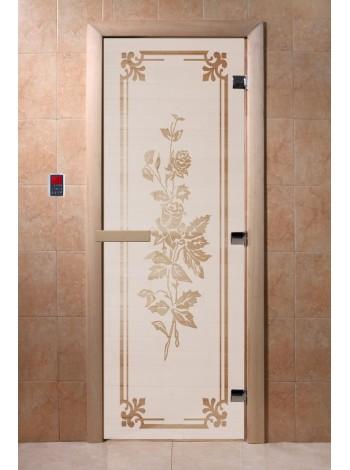 "Дверь ""Розы сатин"""