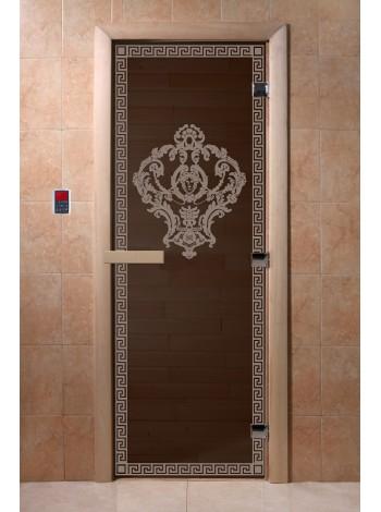 """Дверь """"Версаче черный жемчуг"""""""