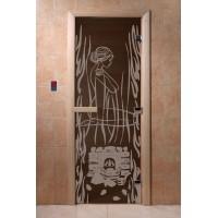 """Дверь """"Волшебный пар черный жемчуг"""""""