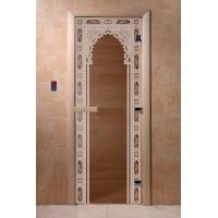 """Дверь """"Восточная арка бронза"""""""