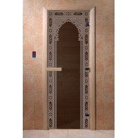 """Дверь """"Восточная арка черный жемчуг"""""""