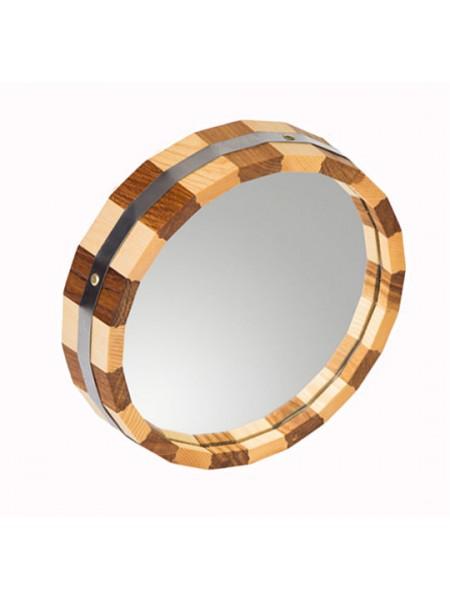 Зеркало Дуб+Ясень