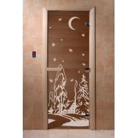 """Дверь """"Зима бронза"""""""