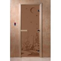 "Дверь ""Зима бронза матовая"""