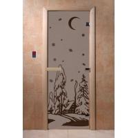 """Дверь """"Зима черный жемчуг матовая"""""""