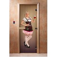 Дверь с фотопечатью A016