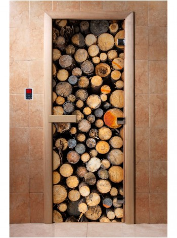 Дверь с фотопечатью A045