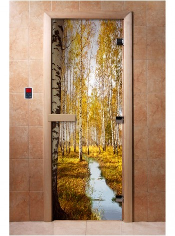 Дверь с фотопечатью A082