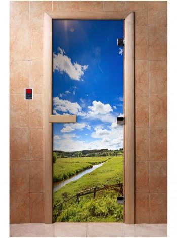 Дверь с фотопечатью A092