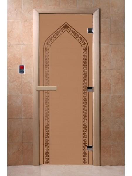 "Дверь ""Арка бронза матовая"""