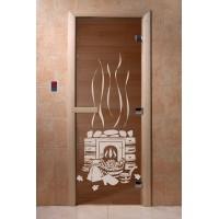 "Дверь ""Банька бронза"""
