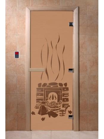 "Дверь ""Банька бронза матовая"""