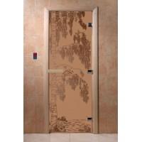 """Дверь """"Береза бронза матовая"""""""