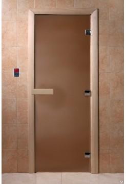 """Дверь """"Теплая Ночь"""" бронза матовая"""