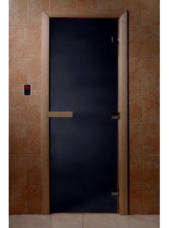 """Дверь """"Черный жемчуг матовая"""""""