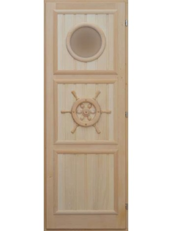 """Дверь """"Штурвал"""" с иллюминатором"""