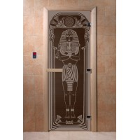 """Дверь """"Египет черный жемчуг"""""""