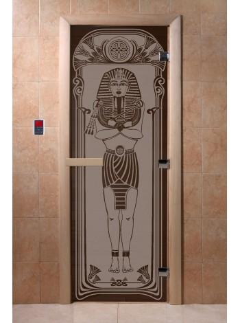"""Дверь """"Египет черный жемчуг матовая"""""""