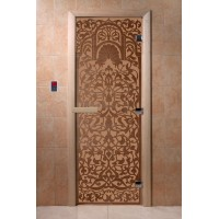 """Дверь """"Флоренция бронза матовая"""""""