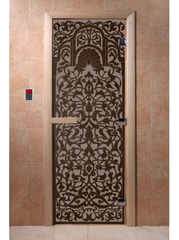 """Дверь """"Флоренция черный жемчуг матовая"""""""