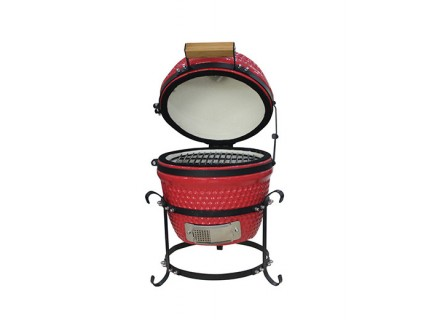 """Kamado Tabletop 13"""" (диаметр 33 см) настольный красный"""