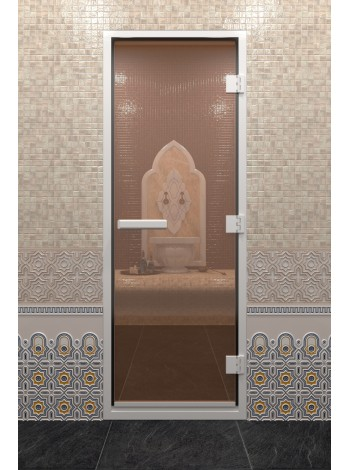 "Дверь ""Хамам Бронза"""