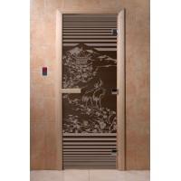 """Дверь """"Япония черный жемчуг"""""""